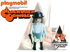 PLAYMOBIL Clockwork Orange, La Naranja Mecanica Figure 100% PLaymobil Pieces
