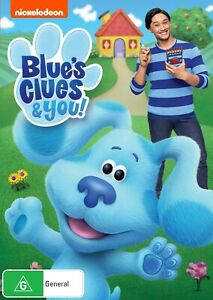 BRAND NEW Blue's Clues & You (DVD, 2021) *PREORDER R4 Movie Blues and