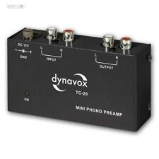 Phono-Vor-Verstärker, Dynavox TC-20, Plattenspieler Entzerrer, Brummen, Preamp