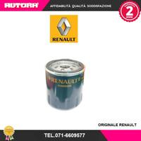 152089599R Filtro olio adatto a Dacia-Renault (MARCA-ORIGINALE RENAULT).