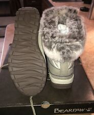 NEW-Bearpaw Women's Becka Waterproof Snow Boots-Color is Stone & Size 7