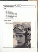 565255 / Motorrad Beleg Autogramm Giacomo Agostini