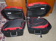 Alforja Forro Equipaje Bolsas Para BMW R100 K75 K100 K1100RS K1100LT Par (Rojo /