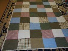 Nice Big Block Pattern Quilt