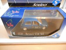 Solido Renault Clio 1.6 S #91 in Blue on 1:43 in Box