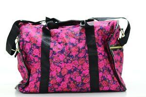 Betsyville Johnson Pink Roses Weekender Duffle NWOT