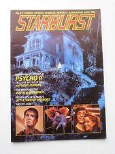 STARBURST MAGAZINE OCT 1983 No 63 PSYCHO II ANTHONY PERKINS BOB SCHIFFER
