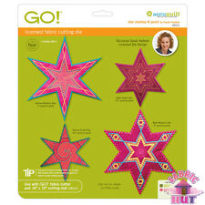 Accuquilt GO! Fabric Cutter Die Star Medley 6 Six Point Sarah Vedeler 55313