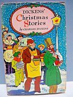 VTG. CHARLES DICKENS' CHRISTMAS STORIES - ILLUSTRATED DUST CVR. WORLD PUB. - VG
