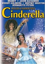 Cinderella DVD Whitney Houston Brandy Disney Musical 1997 R1 Rogers Hammersteins