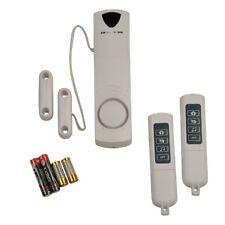 Unitec Raumalarm mit Magnetkontakt für Sicherung v Fenster/Tür Alarmsignal130dB