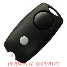 PERSONAL SECURITY 120dB LOUD Panic Alarm,Safety Guard Siren LED torch, BLACK