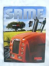 0401) SAME Deutz-Fahr Frankreich - Gamme 2011 - FR-Prospekt Brochure 02.2011