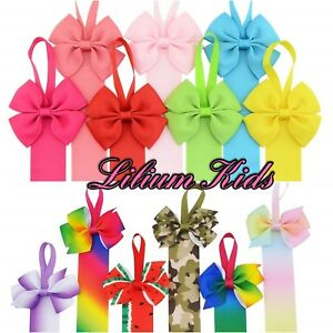 "Hair Bow Holders/Hangers/Ribbons - 26""- 66cm - 28 Colours/Designs HairBow Hanger"