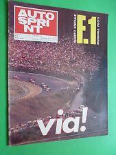 AUTOSPRINT 1971/9 Rafa Indy Mc Rae Alfa Romeo Tyrrell Ford F1 Abarth Nanni Galli