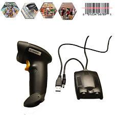 Wireless USB Infrared Ray Cordless Barcode Scanner Bar Code Gun POS Handheld