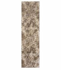 "Gertmenian, 2' 2"" x 8 ft Torino Collection Abstract Coco Neutrals Runner Rug"