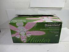 """NEW Hunter Dreamland 44"""" Ceiling Fan Pink Flowers & Butterflies"""