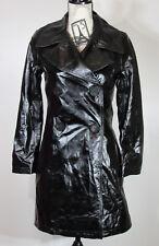 SIMON MILLER Bowa Black Patent Leather Coat, Size 0, NWOT