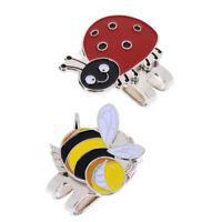2Pcs Golf Ball Marker Magnetic Hat Clip With Magnetic Hat Clip Golfer Gifts