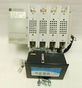 NEW ABB GE Zenith GTX Automatic Transfer Switch GTXJFSSBS91 380V 400A w/ MX70