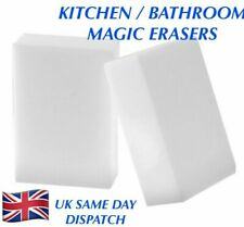 2 X KITCHEN / BATHROOM MAGIC SPONGE ERASERS. DIRT STAIN REMOVER