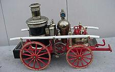 VINTAGE 1960s ANTIQUE 1869 HORSE DRAWN FIRE ENGINE TRANSISTOR RADIO No Reserve