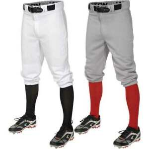 Easton Youth Pro+ Knicker Baseball Pants, Medium, White
