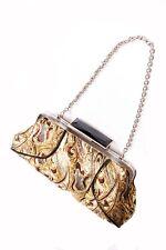 Élégant Artsy Femmes Or Sac A Main En Style Bohémien avec chaîne bracelet (S391)