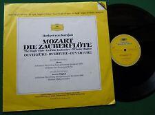 """Mozart Die Zauberflote Magic Flute Overture Herbert von Karajan 2810 076 12"""""""