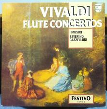 I Musici & Severino Gazzelloni - Vivaldi Flute Concertos LP Mint- 6570 186 Vinyl