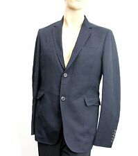 New Gucci Wool/Cotton Jacket Blazer Navy EU 50/US 40, 268799