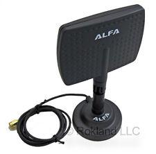 Alfa APA-M04 7 dBi directional panel antenna & ARS-AS01 Magnet docking base WiFi