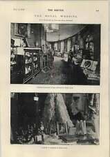 1893 Mariage Royal présente Affiche Couloir Blanc Lodge
