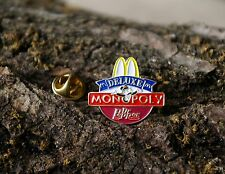 McDonald's Deluxe Dr Pepper Lapel Pin Pinback 1996 Tonka Gold Tone Metal