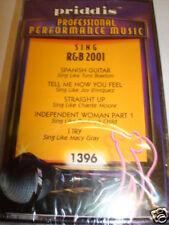 Sing R&B 2001 Karaoke Cassette Priddis 1396 NEW SEALED