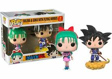 Bulma & Goku with Nimbus Dragonball Z POP! Animation 2-Pack #2 Vinyl Figur Funko