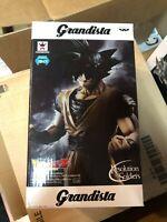 Banpresto Grandista Dragon Ball Z Son Goku ESPOSTO SCATOLA APERTA