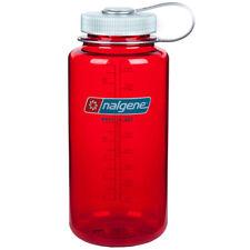 Nalgene Tritan Wide Mouth Water Bottle - 32 oz. - Outdoor Red/Gray