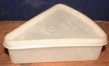 Vintage Tupperware Millionaire Line Pie Slice Keeper With Lid 269-3