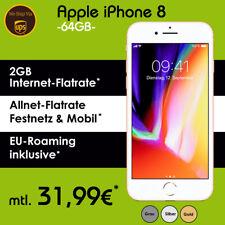 DEAL: Apple iPhone 8 mit Vodafone Allnet Flat Handyvertrag nur 31,99€ monatlich