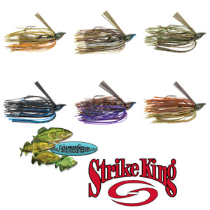Strike King Jig Denny Brauer Structure BABY DBBSTJ Pick Any Size or Color Lures