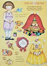 Mary Engelbreit Little Red Riding Hood Magazine Paper Doll Feb/March 2008 Uncut