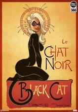 Sideshow Le Chat Noir The BLACK CAT Art Print J. Scott Campbell 277/300 Sold Out