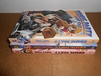 Comic Party vol. 1-3 CPM Manga Graphic Novel Book Lot in English