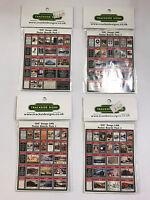 LMS - Model Railway Die Cut Advertising Poster Board Bundle Pack - OO Gauge