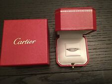 CARTIER PLATINUM 2.4 mm BALLERINE ETERNITY DIAMOND BAND .38 CT Retail $5150 4.75
