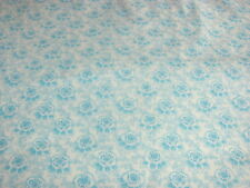 Flower Blossoms Polka Dot Leaves Ozark Calico on Cotton Fabric Sold By The Yard