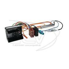 Peugeot RCZ Partner Expert KFZ Radioadapter DIN Fakra Antenne Phantomeinspeisung