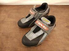 Nice Vintage Time Scolop Men's MTB Shoes - Silver Size EU 40 US 7.5